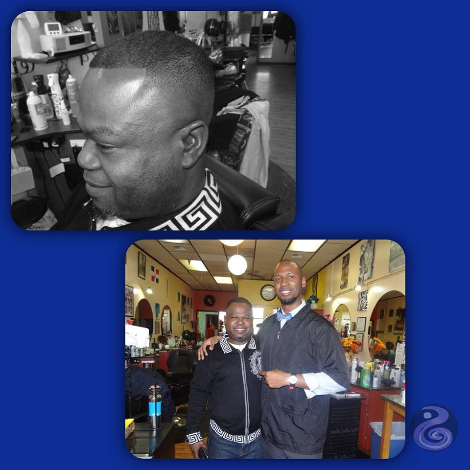 Bald Fade Haircut By Michael